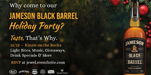 Jameson Black Barrel Holiday Party
