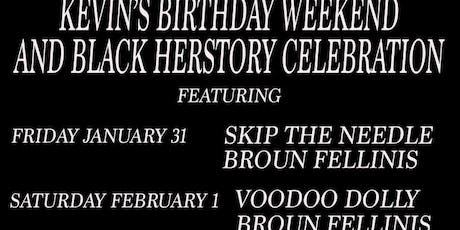 Two Nights! Broun Fellinis, Voodoo Dolly tickets