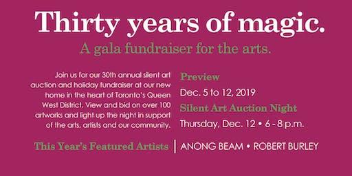 30th Annual Mistletoe Magic:  A holiday art fundraiser