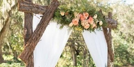 Wedding Weekend Black Tie & Barefoot Arch/Canopy Design Class tickets
