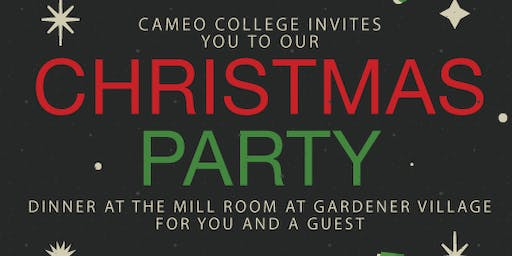Cameo Christmas Party