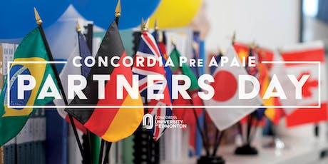 Concordia University of Edmonton Pre APAIE Partners Day tickets