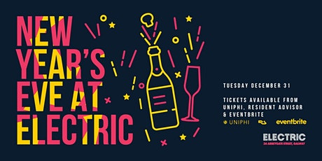 NYE at Electric tickets