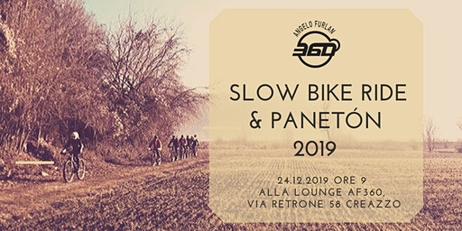Slow bike ride   &  panetòn 2019