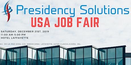 Presidency Solutions USA Job Fair entradas