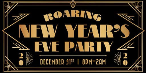 Roaring 2020 New Year's Eve Party on Outsider's  Rooftop