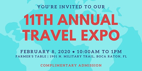 11th Annual Boca Express Travel Expo tickets