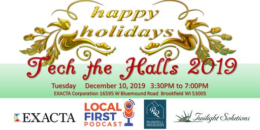 Tech the Halls Holiday Reception, Networking & Ribbon Cutting Ceremony