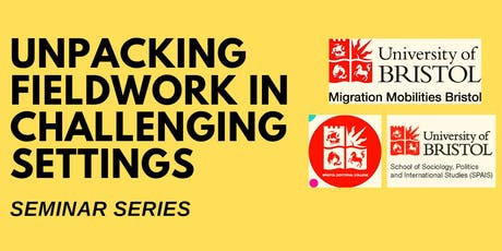 Logistics & methods during fieldwork: As changing as the British weather! tickets