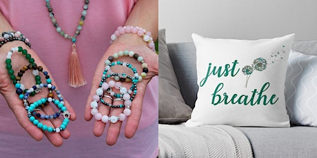Creative Mala-Making and Pillow-Painting Workshop tickets
