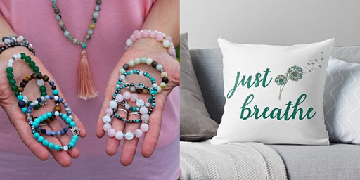 New Year Mala-Making and Pillow-Painting Workshop