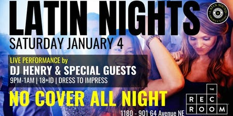 ★ Latin Nights at The Rec Room ★ tickets