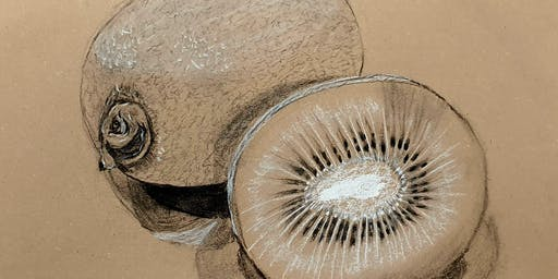 Beginners' Art Class : Learn To Draw ... Using Charcoal and Chalk