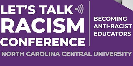 Let's Talk Racism Conference: 2020 tickets