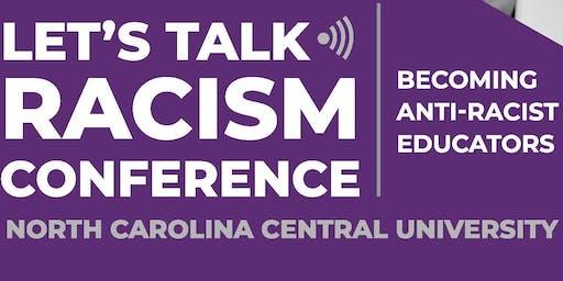 Let's Talk Racism Conference: 2020