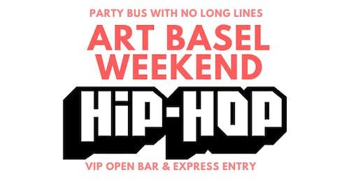 ART BASEL MIAMI HIP HOP OPEN BAR, LIMO, NIGHTCLUB PARTY