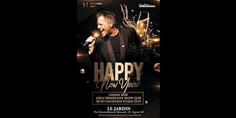 CAPODANNO LE JARDIN - 31 Dicembre 2019 biglietti