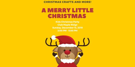 A Merry Little Christmas — Kids Christmas Party