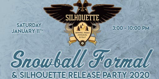 Silhouette Imperial Stout Bottles & Release Party 2020