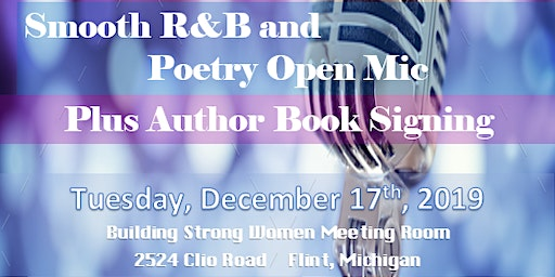Talk That Talk Smooth R&B and Poetry Open Mic Plus Author Book Signing