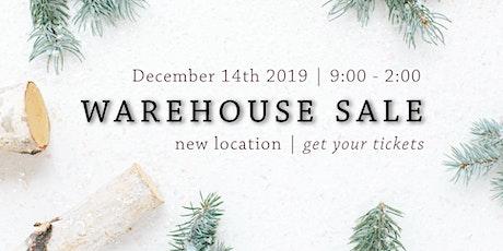 Louisa Jane's Warehouse Sale tickets