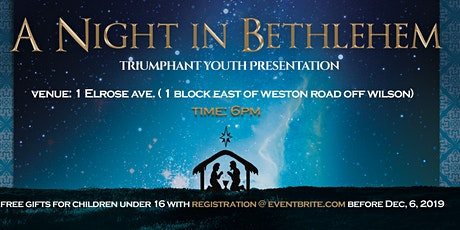 A NIGHT IN BETHLEHEM tickets