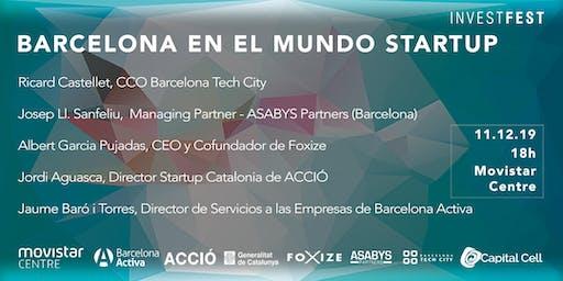 InvestFest: Barcelona en el mundo Startup