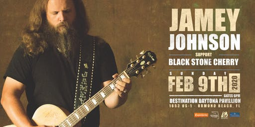 JAMEY JOHNSON w/ BLACK STONE CHERRY - ORMOND BEACH