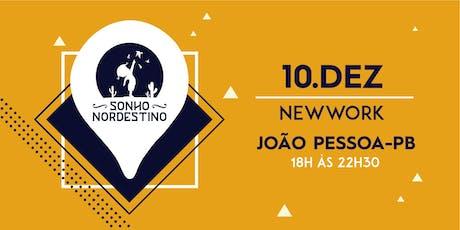 Evento Sonho Nordestino - João Pessoa 10/12 tickets