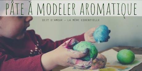 Atelier Parent-Enfant | Pâte à modeler aromatique billets