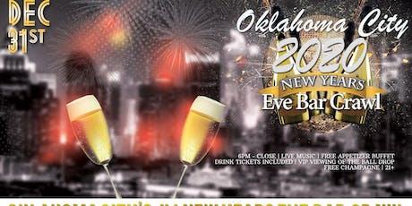 Oklahoma City NYE Bar Crawl tickets