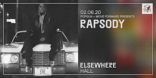 Rapsody @ Elsewhere (Hall)