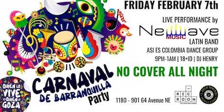 ★ Carnaval de Barranquilla Party ★ tickets