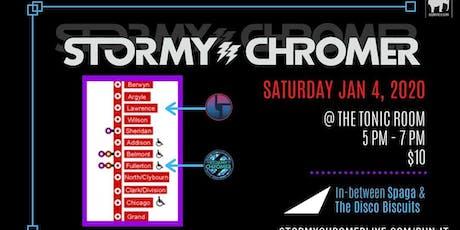 Stormy Chromer tickets