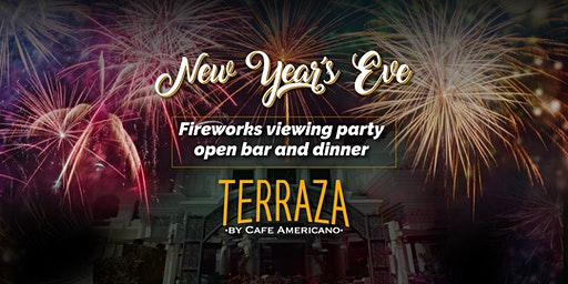Fireworks Viewing Party at the Terraza by Cafe Americano Located at Caesars