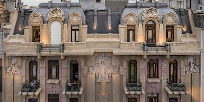 Tour AANBA Balvanera Art Nouveau arq. italianos con Casa Calise y El Molino