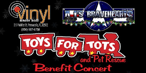 AJs BraveHearts Toys for Tots & Pet Rescue Benefit Concert