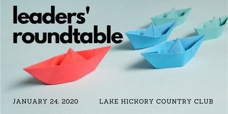 Leaders' Roundtable for January 2020 tickets