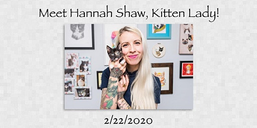 Meet Hannah Shaw, Kitten Lady, at C.A.R.E.'s Paws for a Cause Fiesta