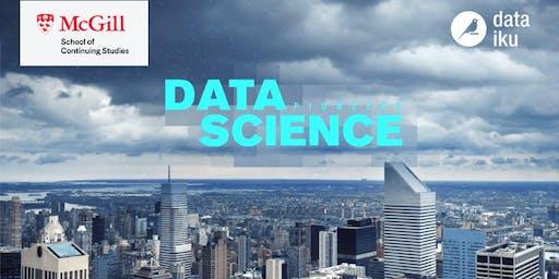 Data Science Pioneers Screening // Montreal