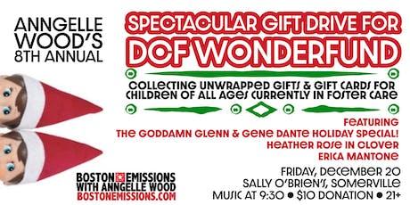Spectacular Gift Drive for DCF Wonderfund, Sat 12/20 tickets