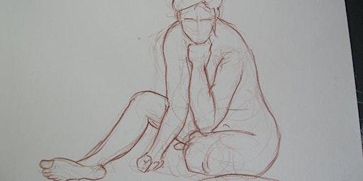 Drawing workshop - Measured life drawing #2 (foreshortening)