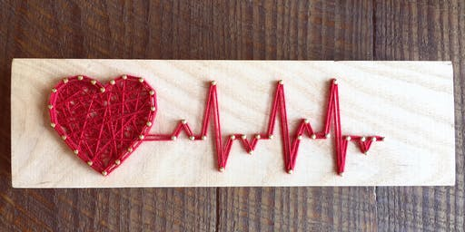 Heart Beat: String Art Workshop