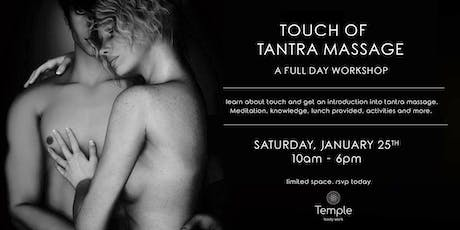 Touch of Tantra Massage - Full Day  Workshop tickets