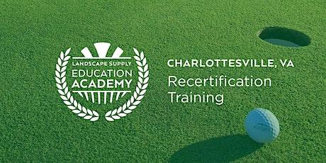 Landscape Supply Recertification Training - Charlottesville, Va tickets