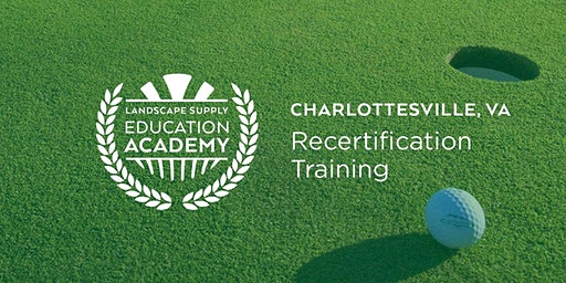 Landscape Supply Recertification Training - Charlottesville, Va