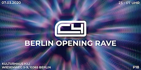 C4 BERLIN OPENING RAVE| Kulturhaus Kili Tickets