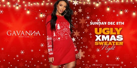 Ugly Xmas Sweater Night tickets