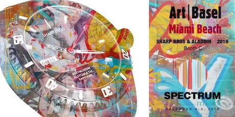 ART BASEL MIAMI 2019 - Aladdin & Sharp Bros @ Spectrum - Booth C tickets
