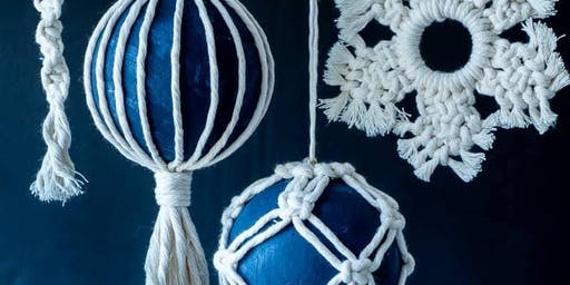 Macrame Christmas Decorations